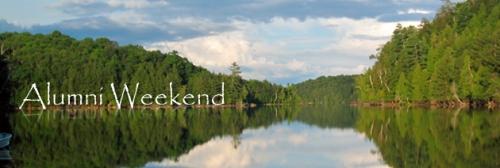 Alumni Weekend header