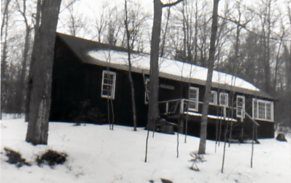 Pow Wow Lodge in Winter of 1964